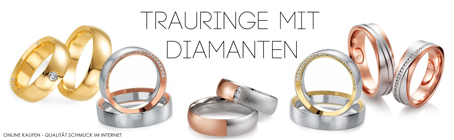 Trauringe mit Diamanten