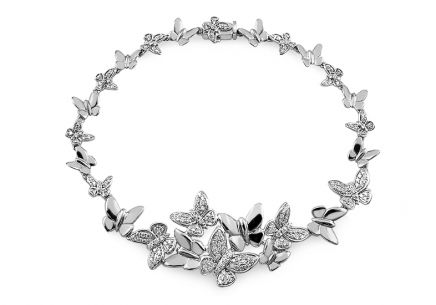 Armband mit Brillanten 0,957 ct Butterfly