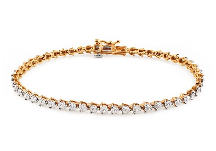 Gold Diamant Armband 0,150 ct Reilly