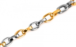 Herren Goldarmband Cable chain 1