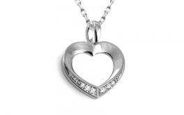Diamant Herz 0,030 ct Heart Shine