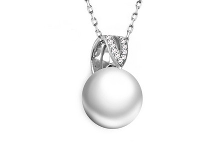 Diamantanhänger 0,060 ct Pearl Emotion