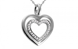 Diamant Herz 0,110 ct Heart Simple