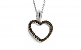 Diamant Herchen 0,150 ct Deluxe Black Heart