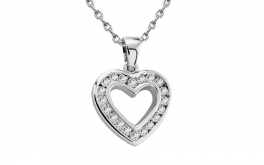 Diamantherz Midnight Heart 0,200 ct