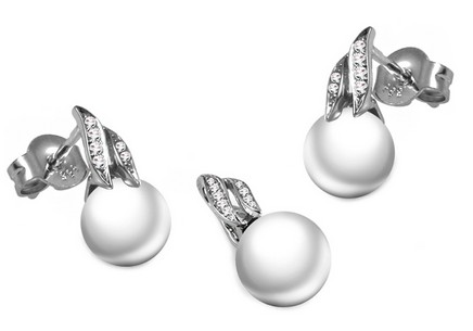 Diamantset 0,090 ct Pearl Prezzie