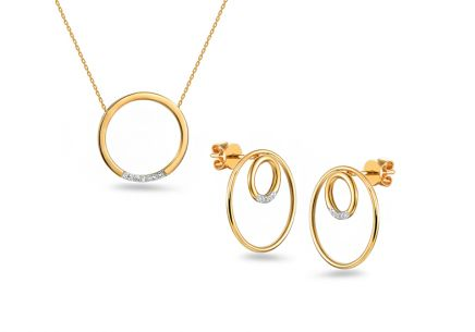 Brillant Set 0,060 ct aus der Kollektion Circles