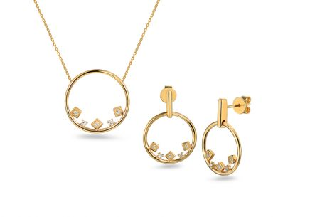 Brillant Set 0,100 ct aus der Kollektion Circles