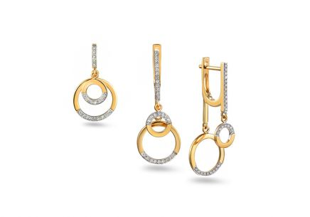 Brillant Set 0,280 ct aus der Kollektion Circles