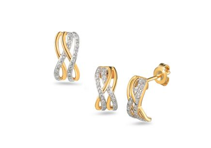 Brillant Set aus der Kollektion Venecia 0,100 ct