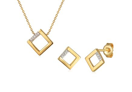 Brillant Set Quadrat 0,020 ct