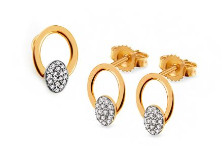 Gold Diamant Set 0,110 ct Ciri