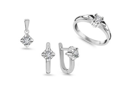 Diamantset Always middle 0,655 ct