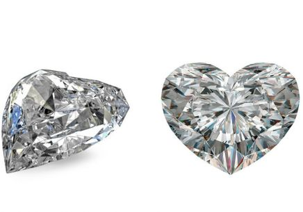 VS1 D 0.324 ct Diamant Zertifikat IGI Schliff Heart