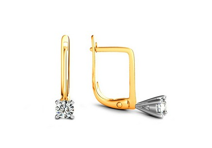 Diamantohrringe Estelle Middle 0,320 ct