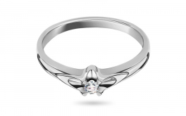 Diamantring Always young white 0,065 ct