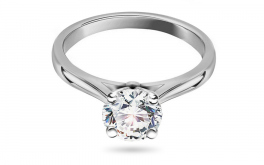 Verlobungsring mit Diamanten 1.05 CT Estelle white
