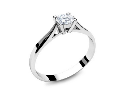 Verlobungsring mit Diamanten 0,150 ct Power Of Love 2