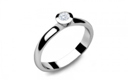 Verlobungsring mit Diamanten 0,150 ct Power Of Love 6
