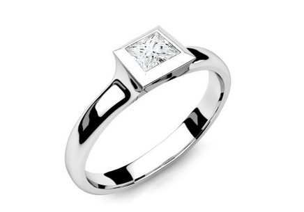 Verlobungsring mit Diamanten 0,260 ct Power Of Love 7