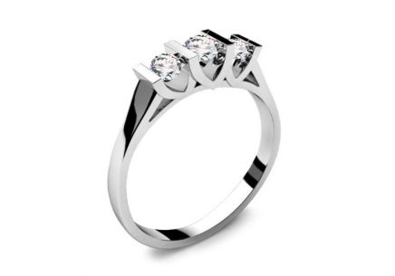 Verlobungsring mit Diamanten 0,310 ct Tree Treasures