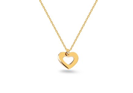 Goldkette Heart aus der Celebrity-Kollektion