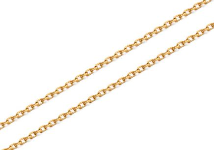 Goldkette Anker 0,8 mm