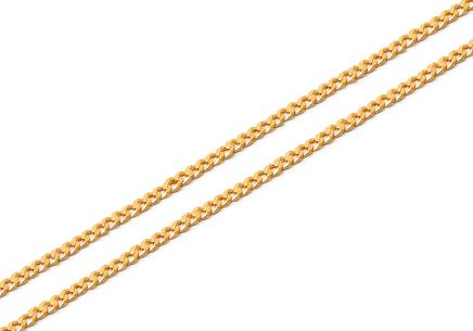 Gold Vollsaiten Pancier 1,0 mm