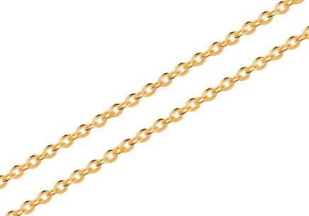Goldkette Rolo 2 mm