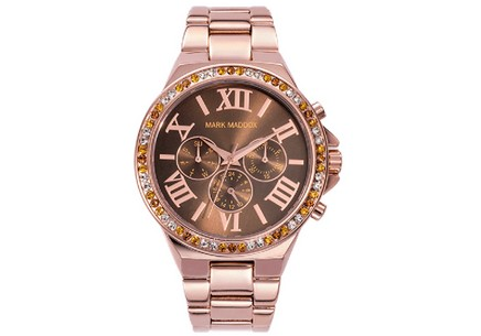 Damenuhr Mark Maddox Pink Gold MM0013-43