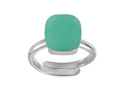 Damen Silberring Mint