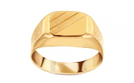 Gold Siegelring Beon