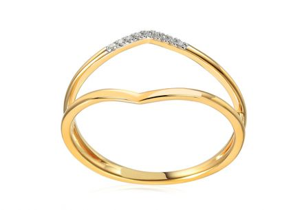 Brillant Goldring 0,020 ct