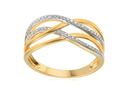 Brillant Ring aus der Kollektion Venecia 0,060 ct
