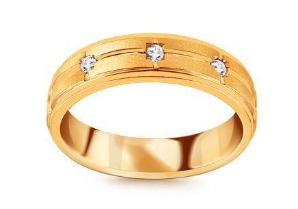 Brillant Goldring 0,110 ct