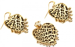 Exklusiver Goldset Hearts of Leopard