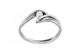 Verlobungsring Beauty mit Brillanten 0,090 ct white