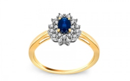 Sapphir Ring 0,200 ct Jeyne